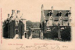 CPA - Vallée De Chevreuse - Château De L'Abbaye Des Vaux-de-Cernay - 1903 - Circulée, écrite Dos - Trianon 1130 - Vaux De Cernay