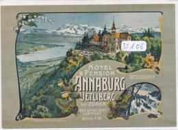 CPM GF  -35106- Suisse - Multivues Hotel Und Pension Annaberg Uetliberg - ZH Zürich