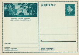 Deutsches Reich - 1931 , Ebert - BPK Ostpreussen , Schloss Beynuhnen - Deutschland