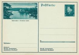 Deutsches Reich - 1931 , Ebert - BPK Ostpreussen , Schloss Rominter Heide - Deutschland