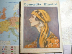 Comoedia Illustré N°4 Du 15 Février 1920 Mlle Marthe Davelli - Libri, Riviste, Fumetti