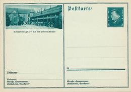 Deutsches Reich - 1931 , Ebert - BPK Ostpreussen , Königsberg - Hof - Ganzsachen
