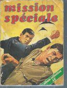 MISSION SPECIALE Reliure N° 23 ( N° 51 + 52 )  -   SNEC / Edi Europ  1975 - Petit Format