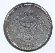 ALBERT I * 20 Frank 1933 Vlaams  Pos.B * Z.Fraai / Prachtig * Nr 9722 - 1909-1934: Albert I
