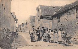 ¤¤   -  MOUSSY-le-VIEUX   -  La Rue Du Bois   -  ¤¤ - Autres Communes