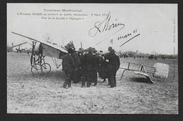 Toulouse Montauban - L' Aviateur Morin Au Moment De Quitter Montauban - 9 Mars 1911 - Montauban