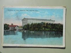 ETATS-UNIS TN TENNESSEE NASHVILLE PARTHENON AND LAKE CENTENNIAL PARK - Nashville