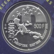 ALBERT II * 500 Frank 2001 * BELGISCH VOORZITTERSCHAP * QP-SET * Nr 9738 - 08. 500 & 5000 Francos