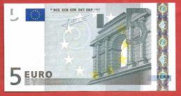 5 EURO SERIE F - MALTA - F00001690787 - E009C4 - 2002 - TRICHET - UNC - FDS - LOW SERIAL - EURO