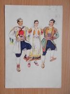 Kov 3012 - Montenegrin National Dances, Vladimir Kirin - Costumes
