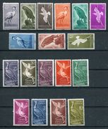 1959-1961- SAHARA ESPANOL-BIRDS - 18 VAL. -M.N.H.- LUXE !! - Sahara Spagnolo