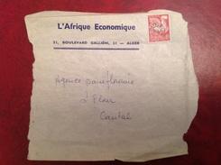 Pré Oblitéré YT121 Sur L'Afrique Economique - Preobliterati