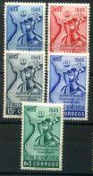VENEZUELA  ( POSTE ) : Y&T  N°  310/314  TIMBRES  NEUFS  SANS  TRACE  DE  CHARNIERE , ROUSSEUR , A  VOIR . - Venezuela