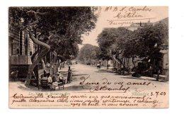 Carte Postale Egypte Et Timbre Egypt Et Affranchissement Alexandrie - -voir état- - Égypte