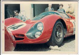 AUTO CAR VOITURE FERRARI 330 P4 -  FOTO ORIGINALE 1966 - Cars