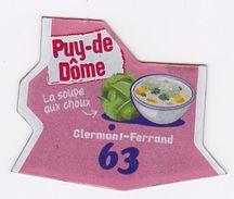 Magnet Le Gaulois - Puy-de-Dôme 63 - Magnets
