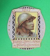 Vignette Journée  Armée D'Afrique Des Troupes Coloniales 1917 - 1914-18