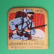 """Vignette Journée Du Poilu 1915 """"Aux Poilus Le Parlement"""" - 1914-18"""