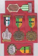 LA CALAMINE KELMIS MORESNET  5 Médailles De Marche - Autres Collections