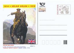 """Tschech. Rep. / Ganzsachen (Pre2014/28) WWI - Vereinigtes Königreich: L.K.W. """"Vorwärts! Vorwärts Zum Sieg ..."""" - Briefe"""