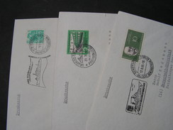 DDR Schiffspost 3 Alte Briefe Ca. 1961 - Lettres