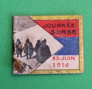 Vignette Journée Serbe 25 Juin 1916 - 1914-18