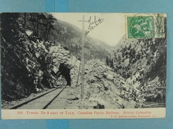 Tunnel N° 9 East Of Yale, Canadian Pacific Railway, British Columbia - Autres