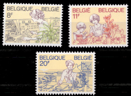 Belgium 2086/88** Femmes  MNH - Belgique