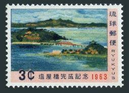 RyuKyu 111,MNH.Michel 139. Shioya Bridge Over Shioya Bay,1963. - Bridges