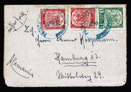A5005) Dom. Rep. Kartenbrief 1923 Nach Hamburg Germany - Dominikanische Rep.
