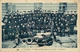 /! 2236 - CPA/CPSM - 83 : Toulon : 5ème Dépot Des équipages De La Flotte, La Musique - Toulon