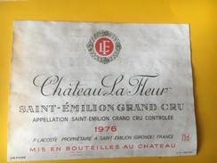 5821 - Château La Fleur 1976 Saint Emilion - Bordeaux