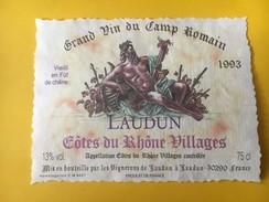 5822 - Grand Vin Du Camp Romain 1993 Laudun Côtes Du Rhône Villages - Côtes Du Rhône