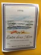 5825 - Entre Deux Mers 1996 Crustacés - Bordeaux