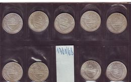 AUSTRIA AUTRISCHE LOTTO  5 SCELLINI ARGENTO  Dal 1960 Al 1968 Lotto Di Nove Monete - Oesterreich