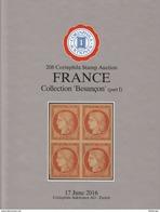 Collection Besançon, Top Classical France Material, AC Corinphila Zurich 208 & 211, 2016 - Catalogues De Maisons De Vente