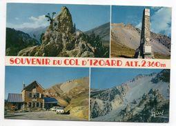 Env Briançon--Souvenir Du Col D'Izoard-Multivues- (cyclisme Tour De France,mémorial F.Coppi,refuge Napoléon....)-cachet - Autres Communes