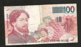 BELGIQUE / BELGIO - 100 FRANK / FRANCS (1995) J. ENSOR - [ 2] 1831-... : Regno Del Belgio