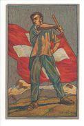 18382- Carte De La Fête Nationale Bundesfeier Festa Nazionale Au Bénéfice De La Croix Rouge Circulée 01.08.1912 - Suisse