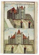 AUTRY-ISSARDS--Le Chateau Du Plessis  Vers 1790......pas Très Courante - Andere Gemeenten