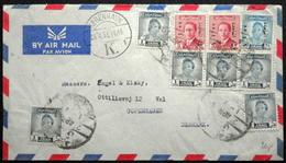 Iraq  1955   Letter    Par Avion    To Denmark   ( Lot 2649  ) - Irak