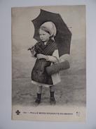 MILLE BONS SOUHAITS Du BERRY N° 580 Carte Fantaisie Fillette - Fantaisies
