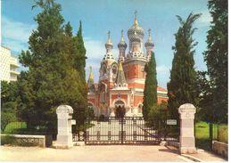 Nice - Côte D'Azur - L'eglise Russe - Monumenten, Gebouwen