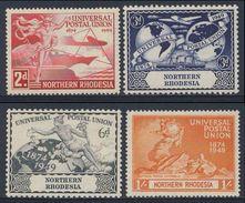 Northern Rhodesia 1949 Mi 50 /3 * MH - 75th Anniv. U.P.U. / 75 Jahre Weltpostverein - U.P.U.