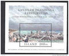 Islande Bloc N° 27 Neuf De 2000 Journée Du Timbre - Blocs-feuillets