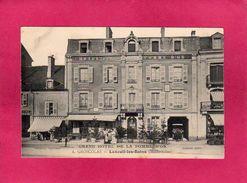 70 Haute Saône, Luxeuil-les-Bains, Grand-Hôtel De La Pomme D'Or, A. Groscolas, Animée, () - Luxeuil Les Bains