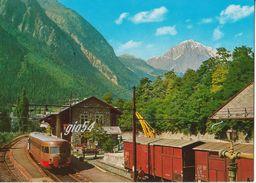 Aosta Pre St Didier Stazione Ferrovia Treno Fg - Unclassified