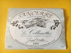 5838 -  Sancerre Les Collinettes 1995 - Etiquettes