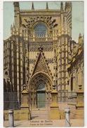 Catedral De Sevilla - Puerta De San Cristobal - ( Knackstedt & Näther, Hamburg - Lichtdruck - Serie 604. Nr. 27) - Sevilla