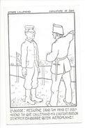 18391 - Caricature SAM Le Suisse Retourne Dans Ton Pays Et Souviens Toi Que L'Allemand N'a L'autorisation.... Aéroplane - Humour